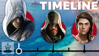 The Truly Complete Assassin's Creed Timeline | The Leaderboard