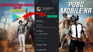 How to Download Pubg Mobile KR  Version From Play Store Nimmi Gaming