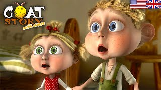 Goat story 2 with Cheese | Full Animaton Movie | English Children Cartoon | Free Animated Kids movie