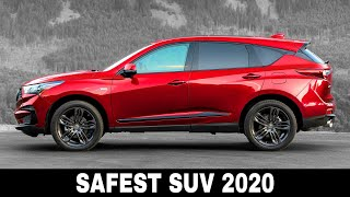 9 New SUVs with the Highest Car Safety Ratings You Should Buy Today