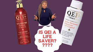 QEI Plus Lotion review/Best cream for damaged and mature skin/ Effective skin lightening CREAM?