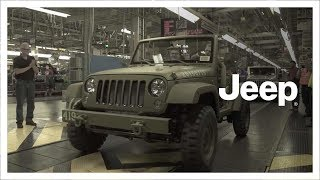 Jeep® Wrangler | 75th Anniversary | Factory Build of Salute Concept