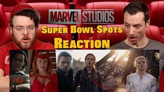 Marvel's Super Bowl 'Big Game' & Black Widow - Spots Reaction