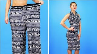 8 BRILLIANT CLOTHES HACKS FOR GIRLS || Cool DIY Ideas by 123 GO!