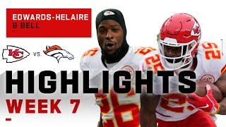 Le'Veon Bell & Clyde Edwards-Helaire Run Around Denver | NFL 2020 Highlights