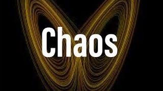 Chaos theory in Mathematics in a nutshell
