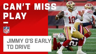 Jimmy G Orchestrates Early TD Drive