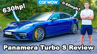 New Porsche Panamera Turbo S - see how quick it is to 60mph... and to annoy other drivers!