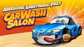 Lightning Fast Car Wash Salon!  Car Wash Game for Kids!  Children's Car Wash Game!  {iOS} Kid Vids!