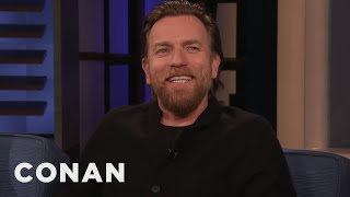 Ewan McGregor On Reprising Obi-Wan & Why Lightsabers Need Hilts - CONAN on TBS