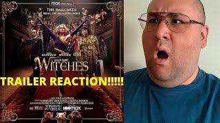 The Witches - Official Trailer - REACTION!!!!!