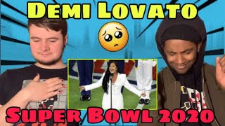 Demi Lovato National Anthem Super Bowl REACTION