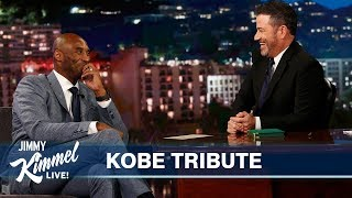 Jimmy Kimmel Remembers Kobe Bryant