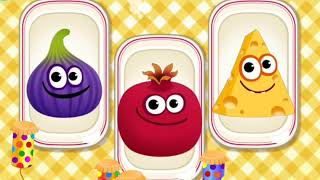 How to Call Fruits and Vegetables in English -  Puzzle Game