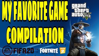 MY FAVORITE GAME COMPILATION PS4 (Best & Funny Moments)