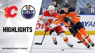 Flames @ Oilers 4/2/21 | NHL Highlights