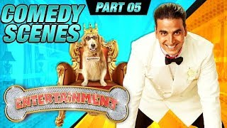 Entertainment Comedy Scenes | Akshay Kumar, Tamannaah Bhatia, Johnny Lever | Part 5