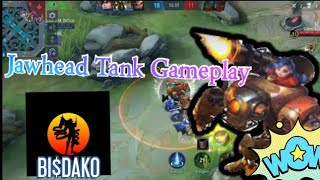Jawhead Tank Gameplay  #ML #mobilelegendsbangbang