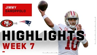 Jimmy G Gets His Revenge on the Patriots | NFL 2020 Highlights