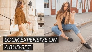 HOW TO LOOK EXPENSIVE ON A BUDGET // jessica neistadt ♡