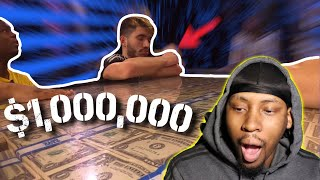 Last To Take Hand Off $1,000,000 Keeps It **Reaction**
