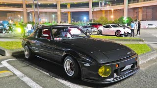 RX7 HEAVEN CAR MEET IN JAPAN!
